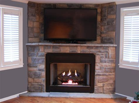 stone gas fireplace stone veneer fireplace pictures and ideas