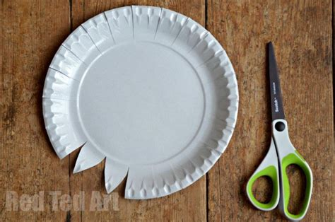 paper plate weaving how to ted s