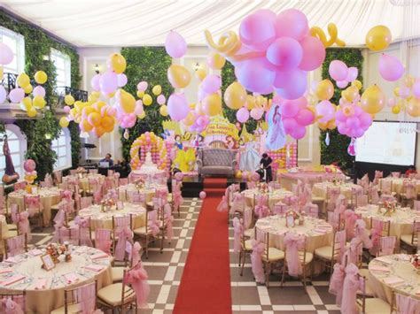 princess themed party venues birthday party hanging gardens events venue