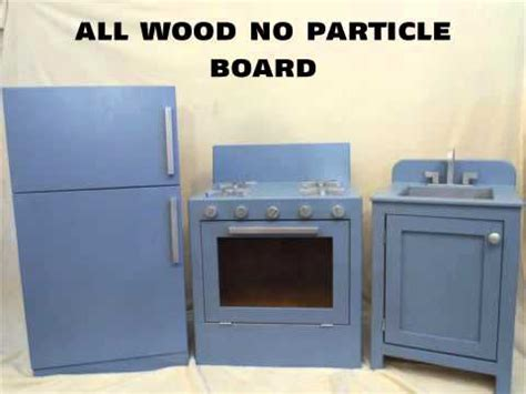 Handmade Wooden Play Kitchen - handmade wooden play kitchen sets starting at 225 00 made