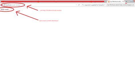 membuat file index html belajarbootstrap