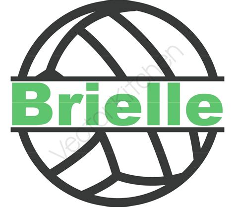 printable volleyball name tags split volleyball frame for name monogram just spike it