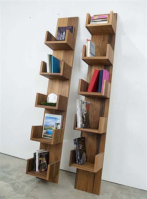 simple wooden bookshelf design home design elements