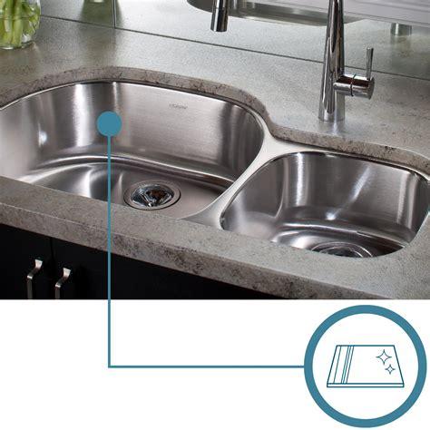 stainless steel sink restoration kit elkay lustertone lrad1918603 single bowl top mount