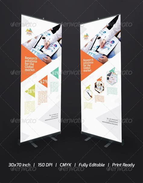 17 best images about pull up banner design inspiration