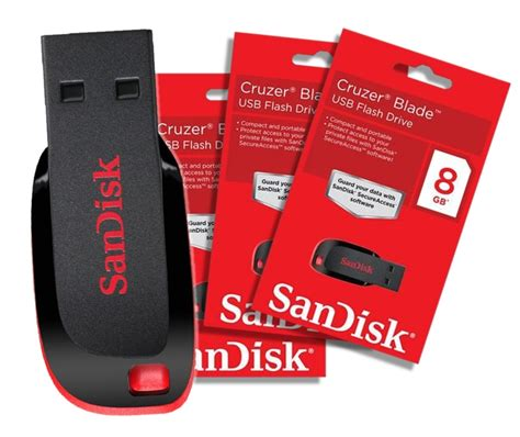 Sandisk 8 Gb sandisk 8gb cruzer blade pendrive