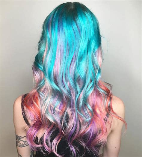 hair mermaid quot mermaid hair quot trend has dyeing their hair into
