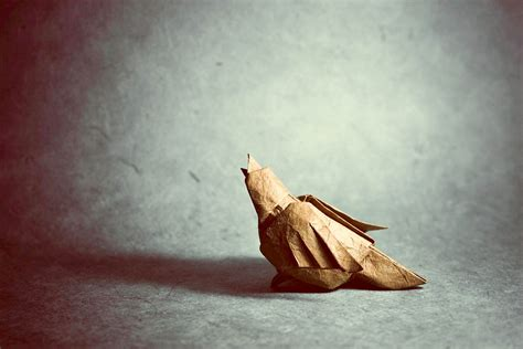 Origami Sparrow - 25 beautiful origami birds 21 is especially impressive