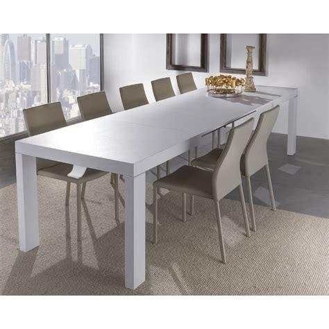 tavoli legno bianco tavolo moderno aladin in legno bianco allungabile per cucina