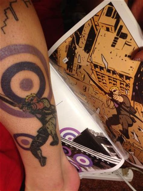 hawkeye tattoo 1000 ideas about marvel tattoos on