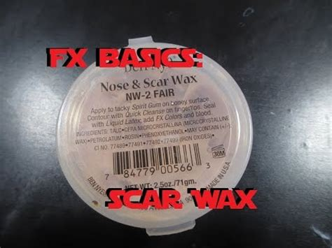 scar wax tutorial homemade scar wax tutorial how to save money and do it