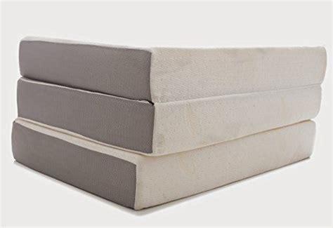 milliard   memory foam tri fold mattress  ultra