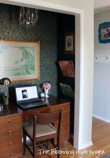 Hometalk Turning Front Entry Closet Into An Office