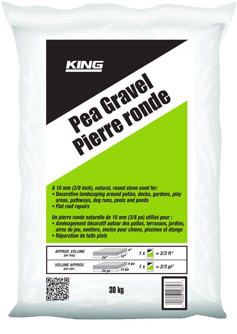 king pea gravel gt king home improvement products
