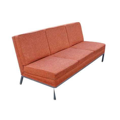 steelcase couch metro retro furniture vintage steelcase sofa brushed