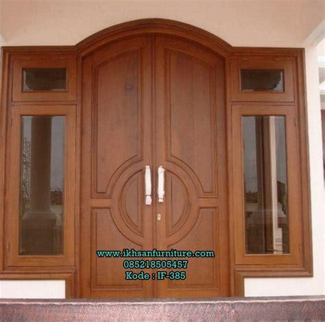 design pintu rumah kayu pintu lengkung kuputarung kayu jati pintu rumah pinterest