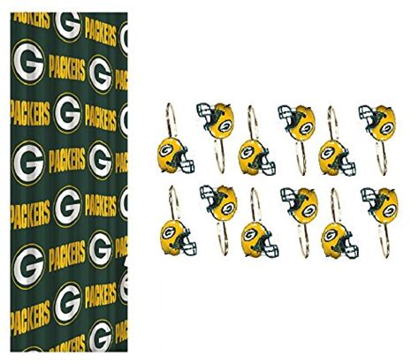 green bay packers shower curtain packers shower curtains green bay packers shower curtain