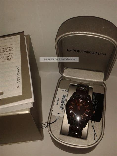 Chopard Keramik Brown emporio armani ar1445 keramik braun gold damenuhr box