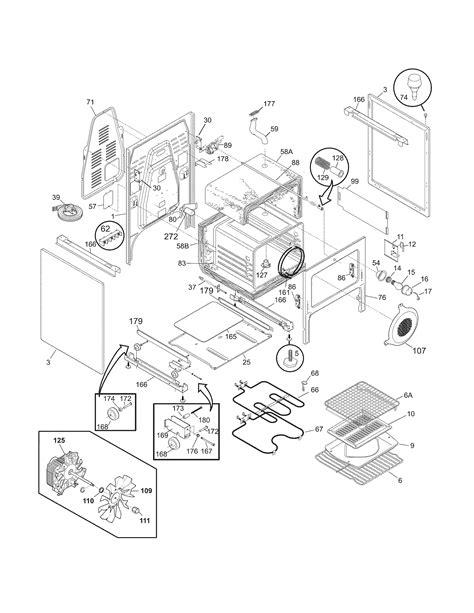 electrolux parts diagram electrolux pglef385cb1 electric range timer stove clocks