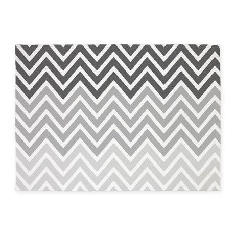 gray chevron area rug gray chevron stripes 5 x7 area rug by chevroncitystripes