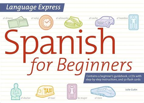 spanish for beginners languages 0746046413 language express spanish for beginners by julie gutin other format barnes noble 174