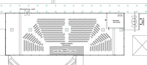 orchestra floor plan the dome creative management