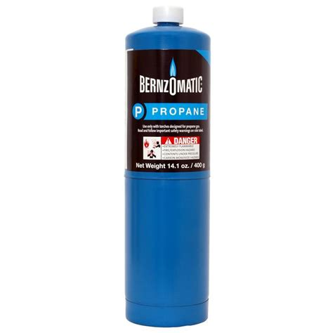 propane tank home depot bernzomatic 14 1 oz propane gas cylinder 304182 the