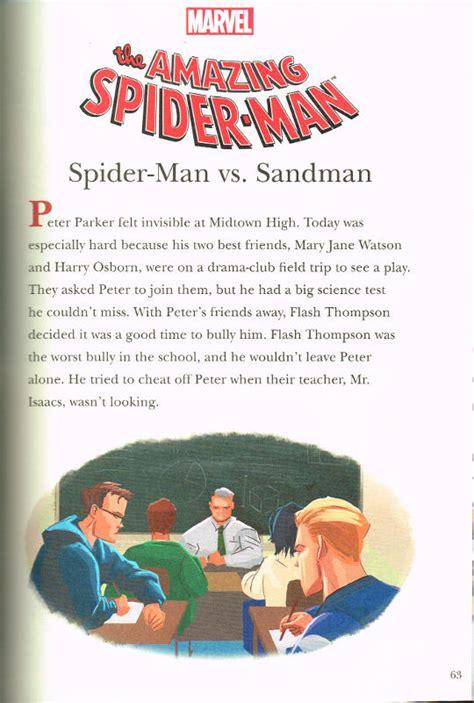 5 minute marvel stories 5 minute stories spiderfan org comics marvel 5 minute story books