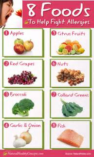 detox and reduce or eliminate allergy symptoms infographic healthy concepts with a