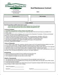 roofing contract template doc 585808 roofing contract template 6 roofing