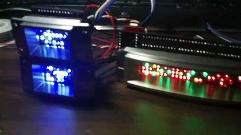 Lcd Ad Max R2 r2 d2 led lighting installed in aluminum surrounds