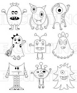 monsters colors monsters so and easy design ideas and