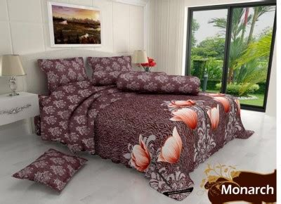 Bed Cover Set Kintakun Dluxe 3d 160 King 180 Go monarch sprei santika deluxe 180 zahra sprei