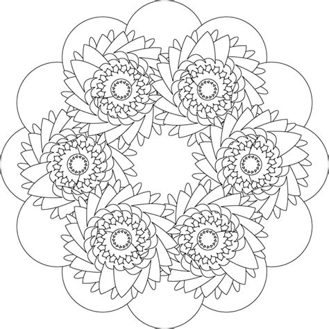 coloring pages for adults designs mandalas coloring part 3