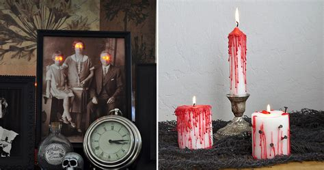 halloween home made decorations easy diy halloween home decorations bored panda