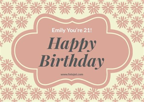 21st Birthday Card Template by 21st Birthday Templates Birds And Insects 21st Birthday