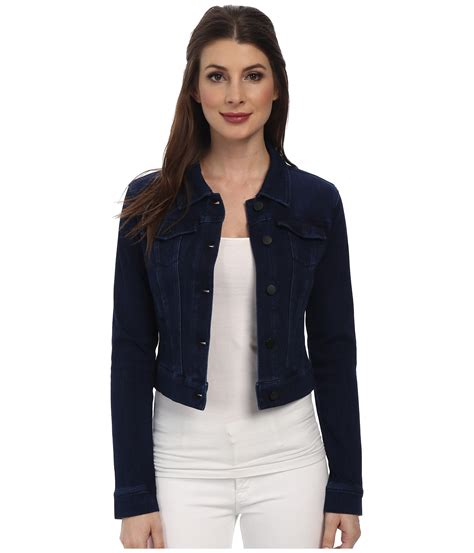Cropped Jacket liverpool cropped powerflex denim jacket at zappos