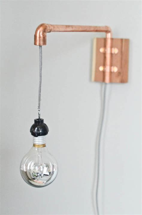 Diy Wall Sconce Light Diy Sconce Lights Decorating Your Small Space