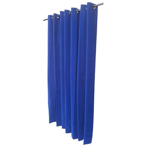 Blue Velour Curtains 10 Ft High Velvet Curtain Panel With Ring Top 120 Inch Royal Blue Drapes
