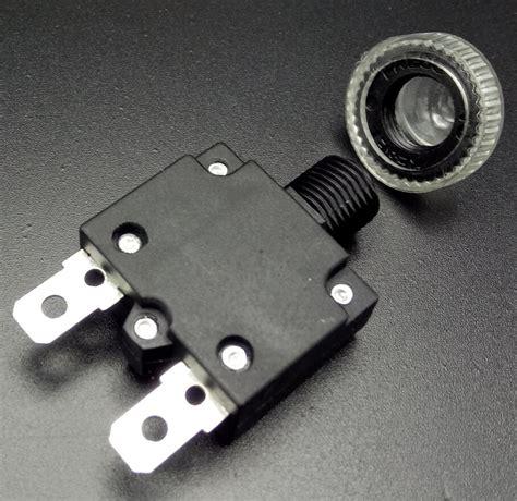 Sale 6a Circuit Breaker Push Button Protector thermal switch protector push button 3a 4a 5a 6a 7a 7 5a 8a 10a 15a 18a 20a 25a 30a
