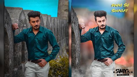 tutorial picsart blur picsart editing nice bokeh and blur background picsart