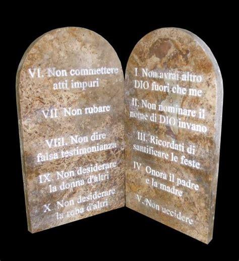 le tavole dei comandamenti tavole in pietra i 10 comandamenti a siena kijiji
