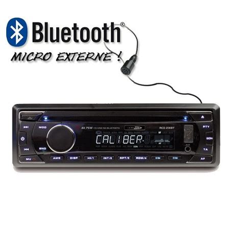 format audio pour autoradio caliber rcd231bt autoradio cd usb sd bluetooth aur