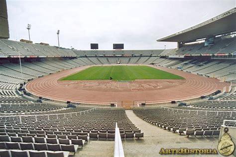 Intirior by Estadio Ol 237 Mpico Barcelona Interior Obra
