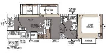 Flagstaff Fifth Wheel Floor Plans 2014 Flagstaff Classic Super Lite Fifth Wheel Series M