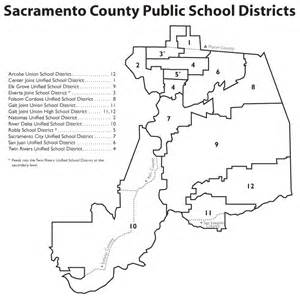 scoe school districts within sacramento county