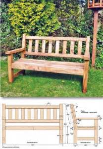 25 best ideas about garden bench plans on