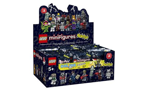 Lego 71013 Series 16 Minifigures Box Of 60 Misb With Brown Box lego 71010 box of 60 minifigures series 14 style ebay