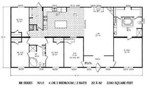 Floor Plans For Mobile Homes Double Wide by Mobile Home Plans Double Wide Trailers Homes Bestofhouse