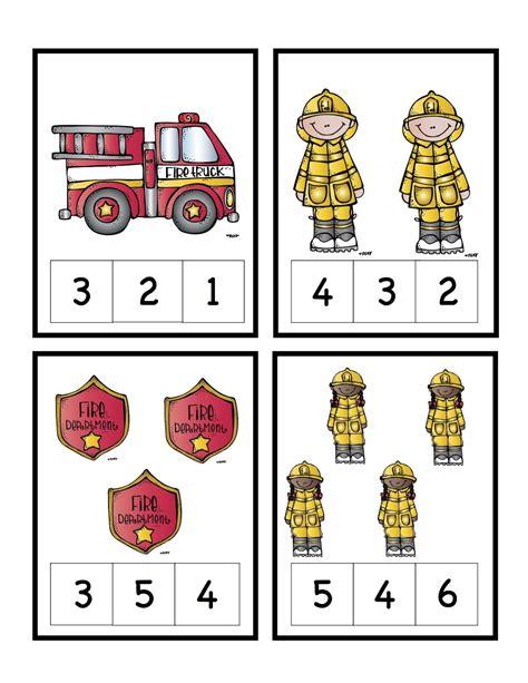 printable number cards for kindergarten preschool printables fire safety number cards preschool